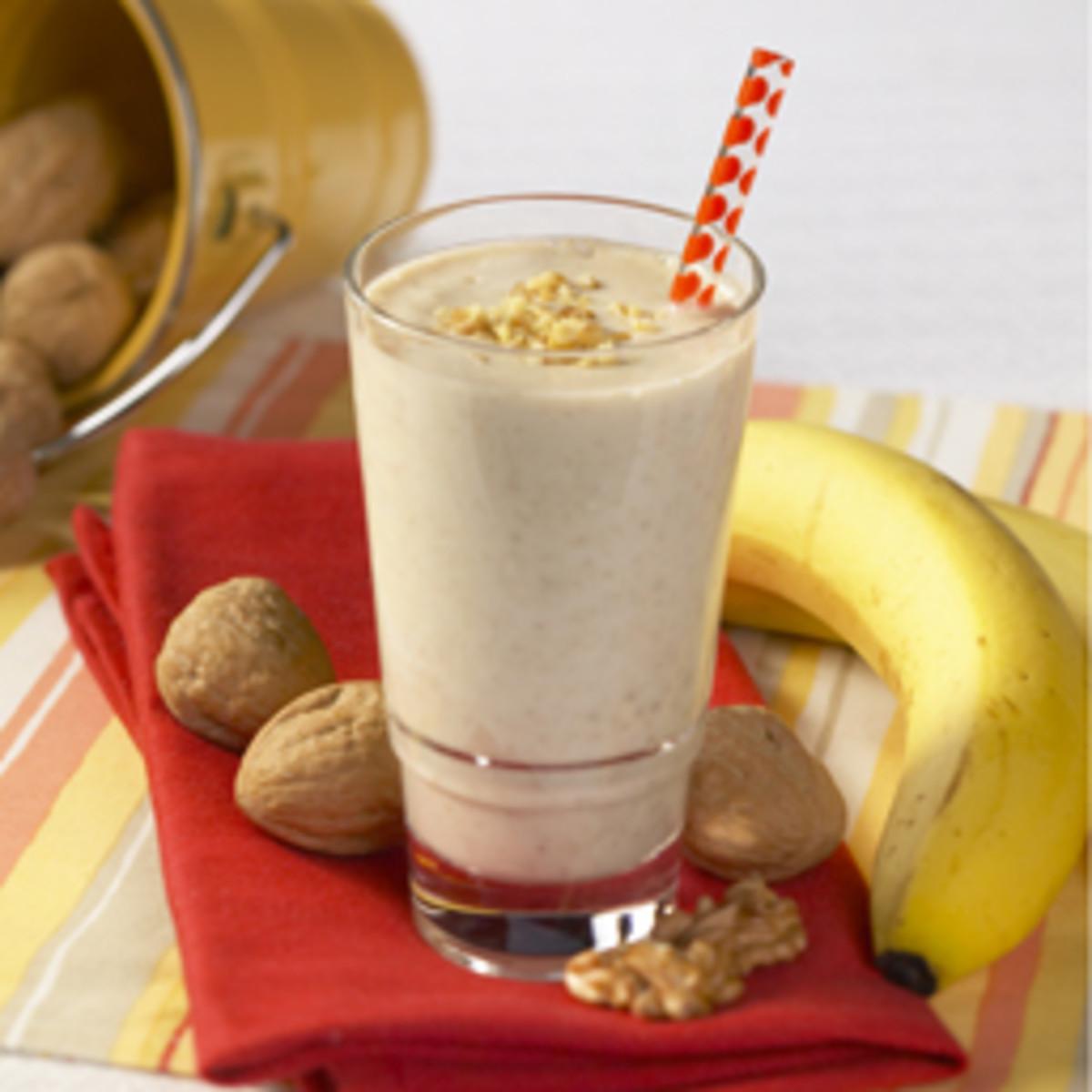 Awesome Banana Walnut Shake