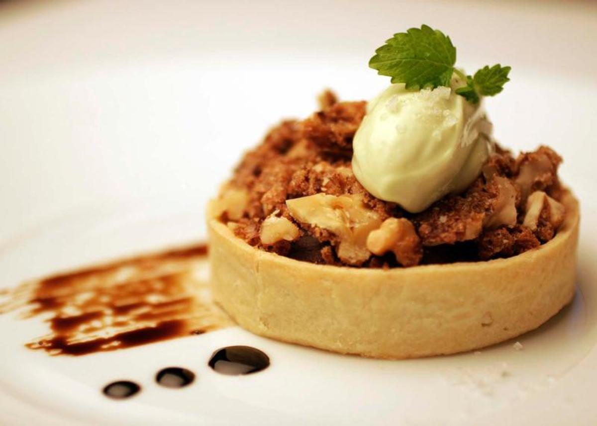 Chipotle Walnut Tart