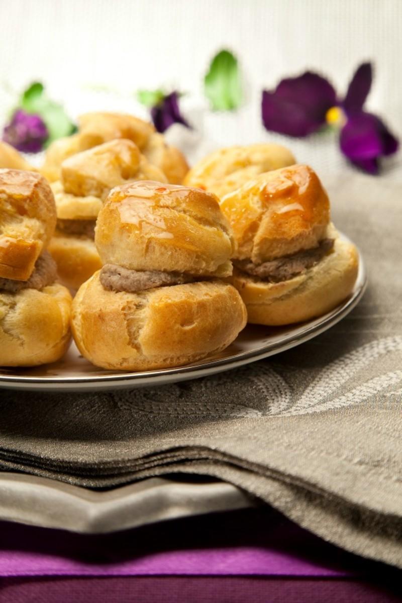 choux liver pastries