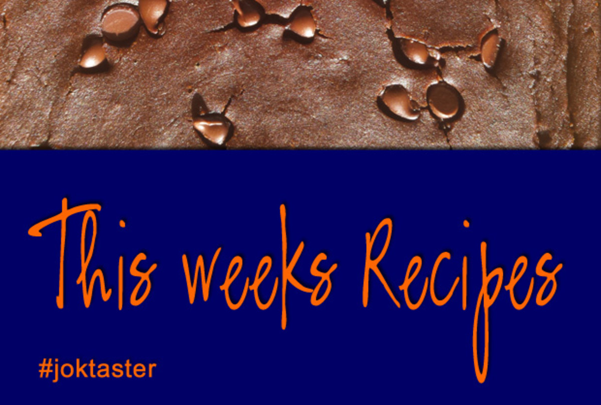 Featured Image for weekly recipes