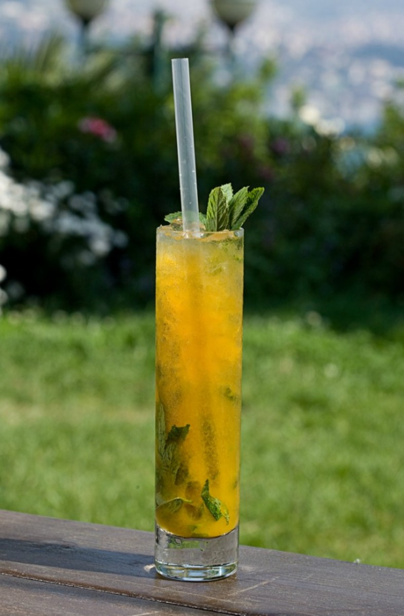 Passion Fruit Mojito with Morad