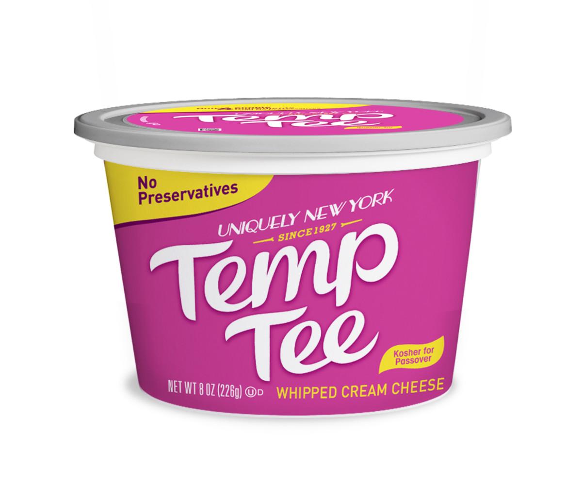 temp tee whipped cream cheese tub