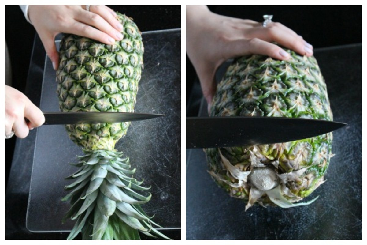 pineapple cut 1