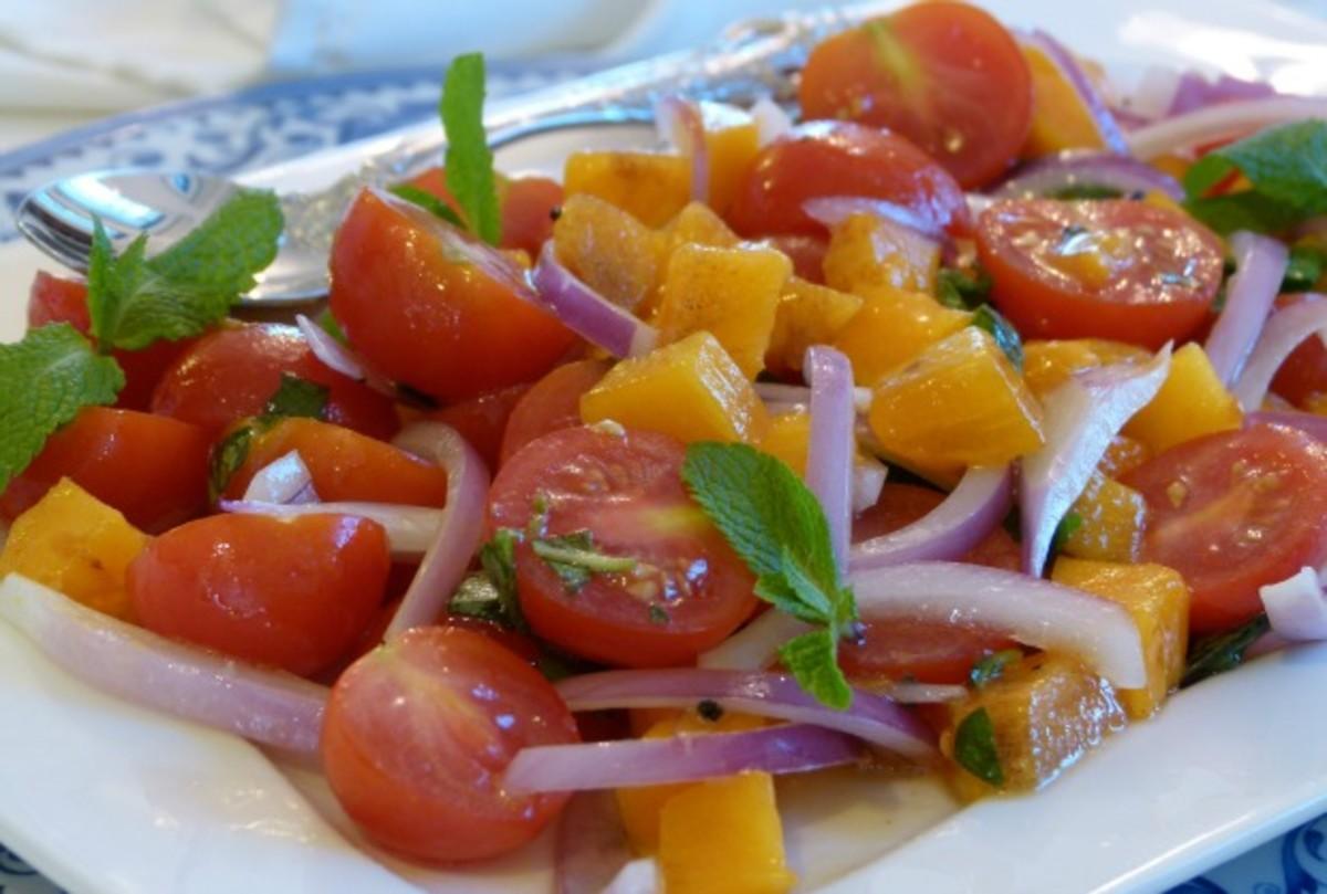 persimmon salsa