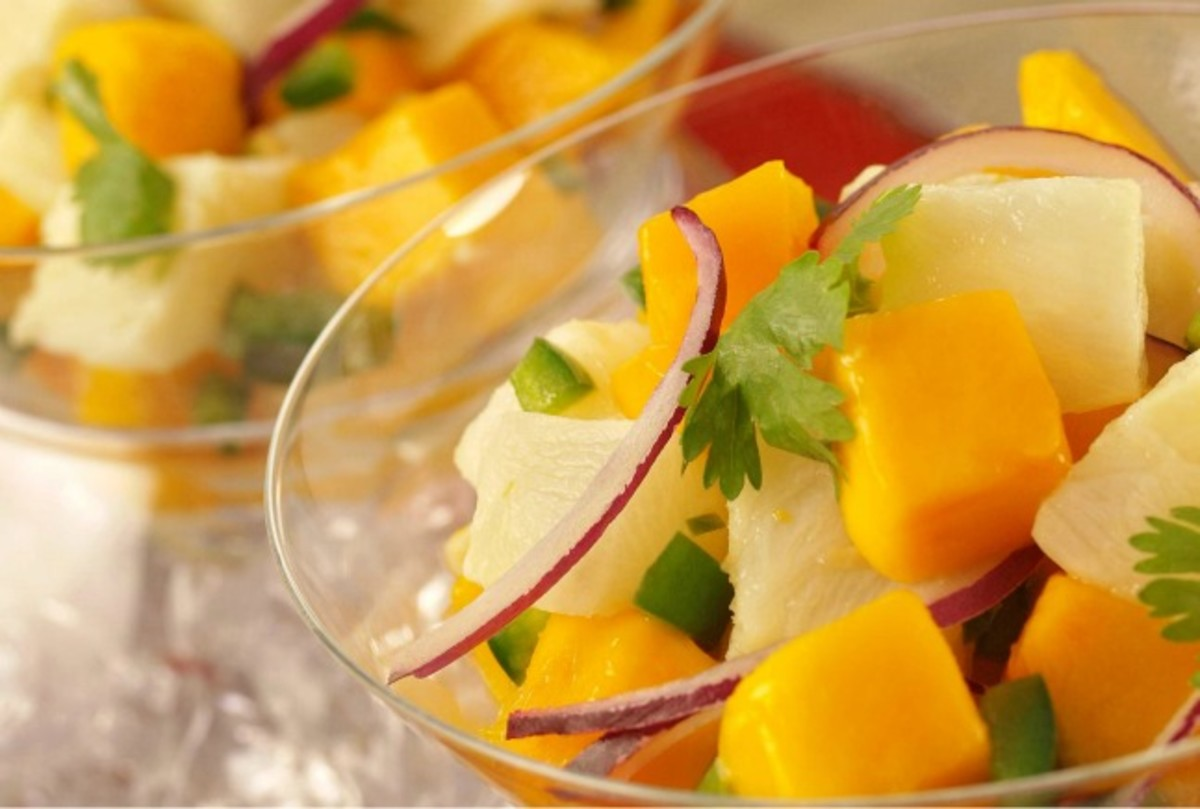 Tilapia Ceviche with Mango