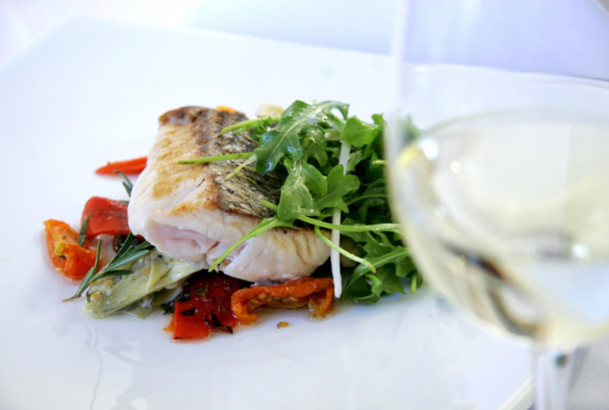 wine-and-fish