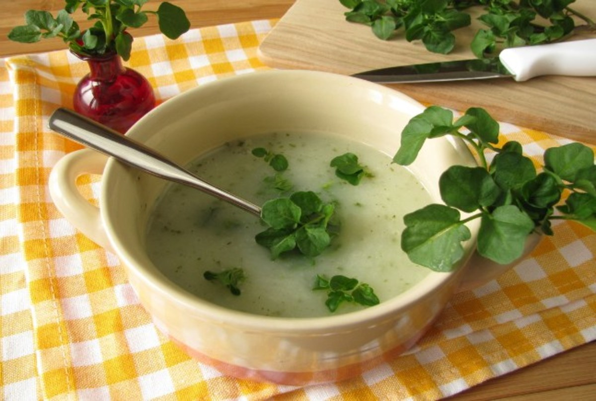 watercress-soup