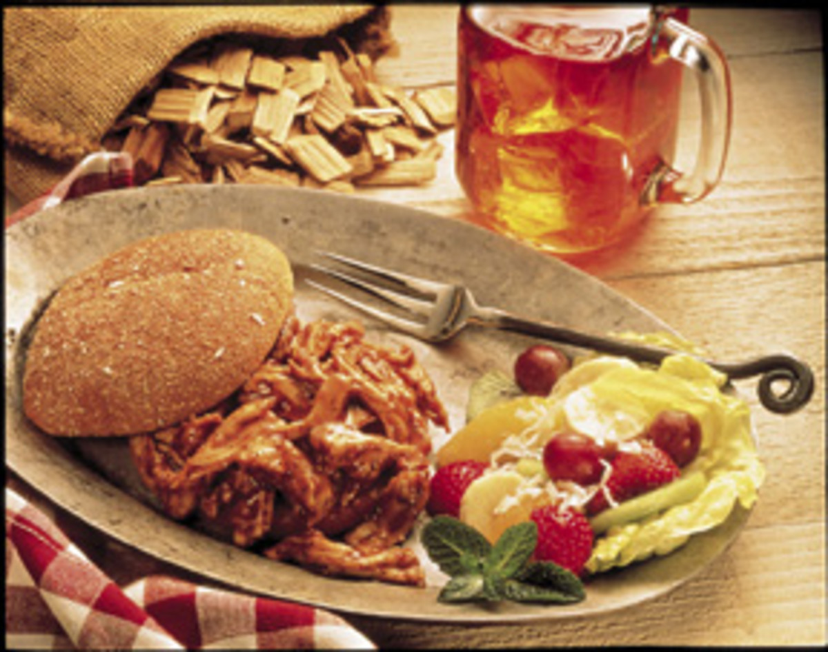 Kentucky Bbq Turkey Sandwich