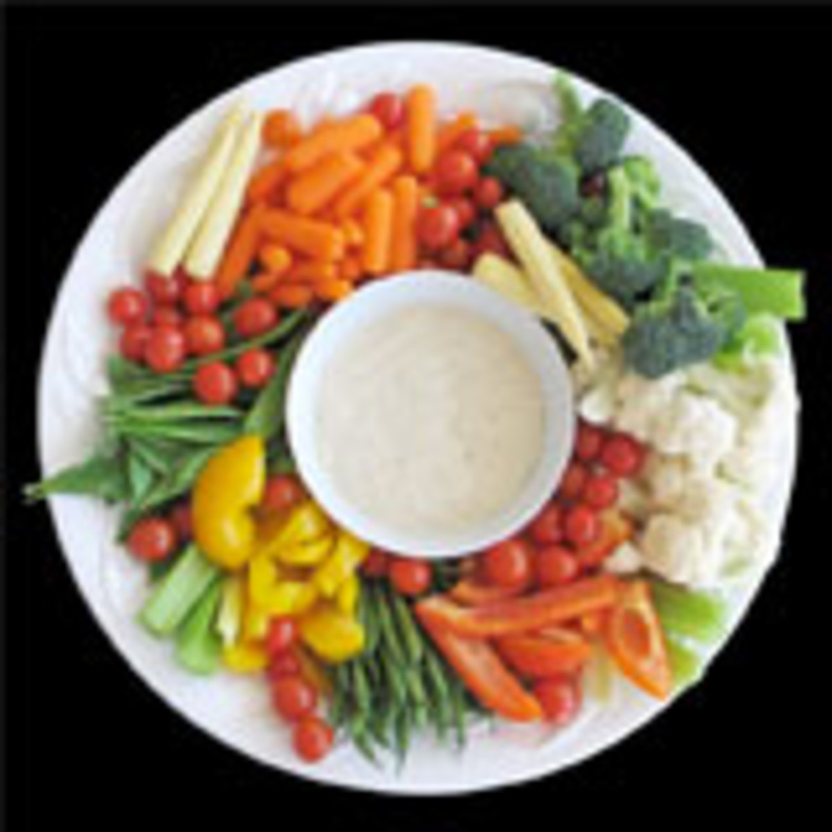 Crunchy Vegetable Dip