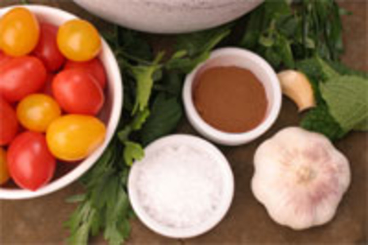 Passover Fattoush Salad