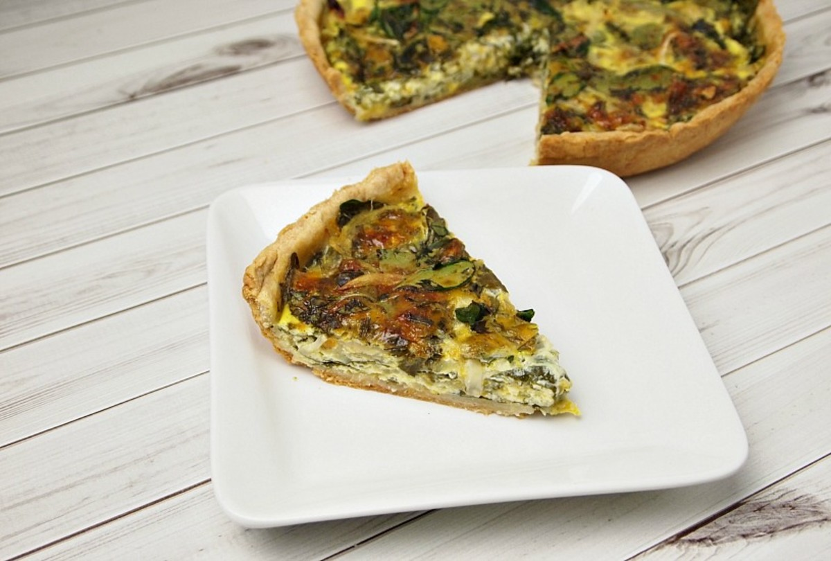 Caramelized-Onion-Spinach-Blue-Marble-Quiche