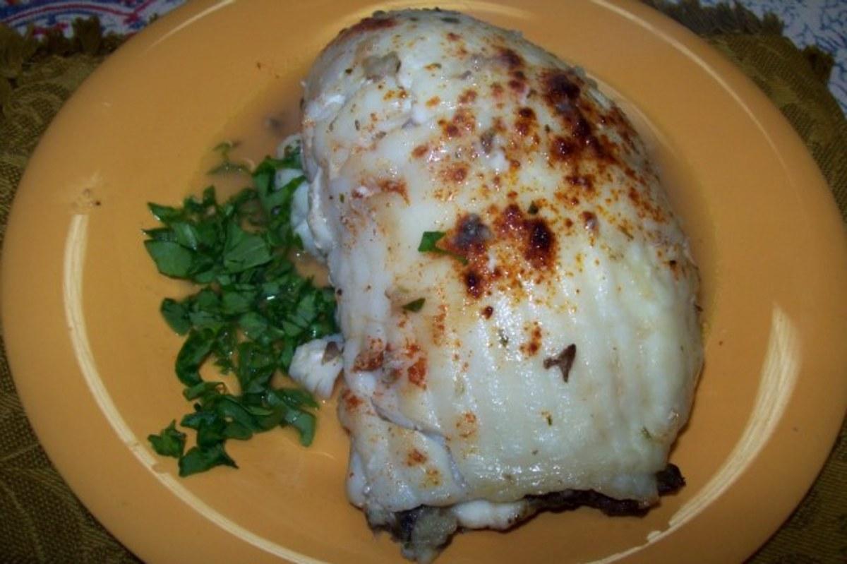 mushroom-stuffed-tilapia-rolls