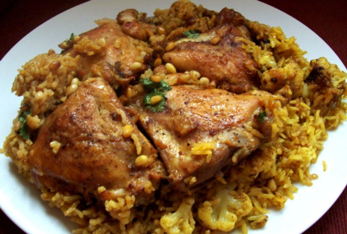 Maqluba joy of kosher this is a traditional middle eastern dish that i read about and had to try it works great for friday night and even for leftovers forumfinder Choice Image