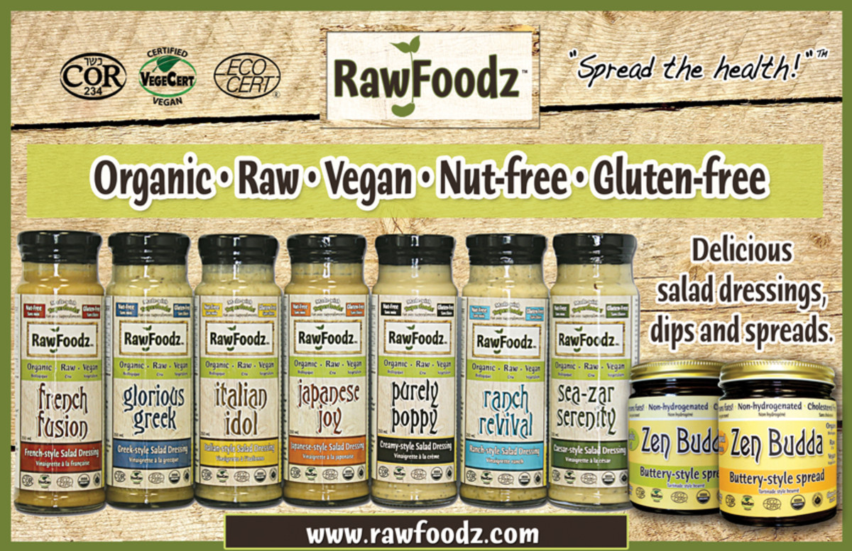 raw food dressing