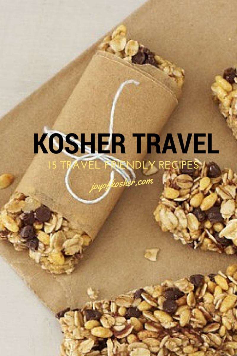 travel friendly recipes canva