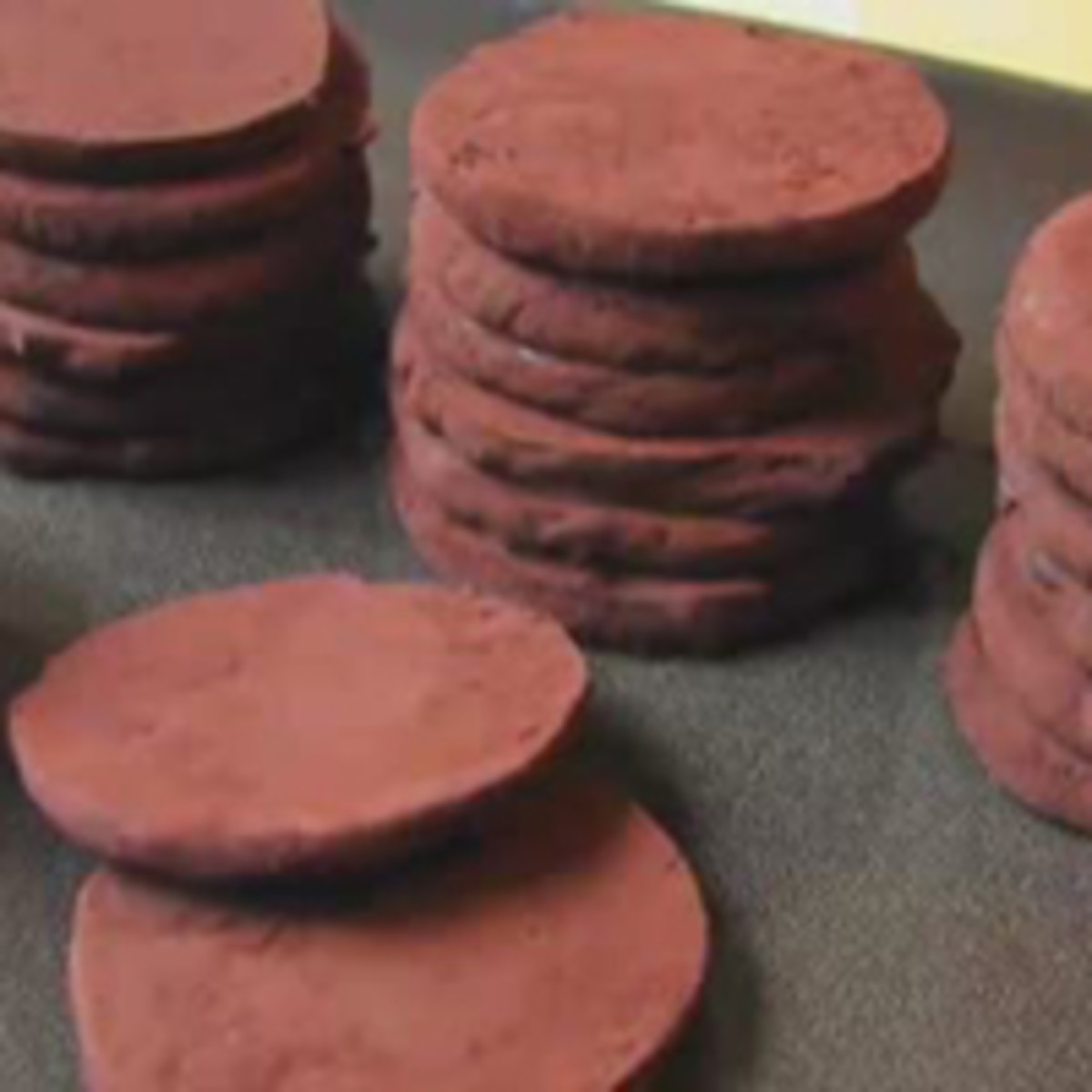 Chocolate Gelt Cookies