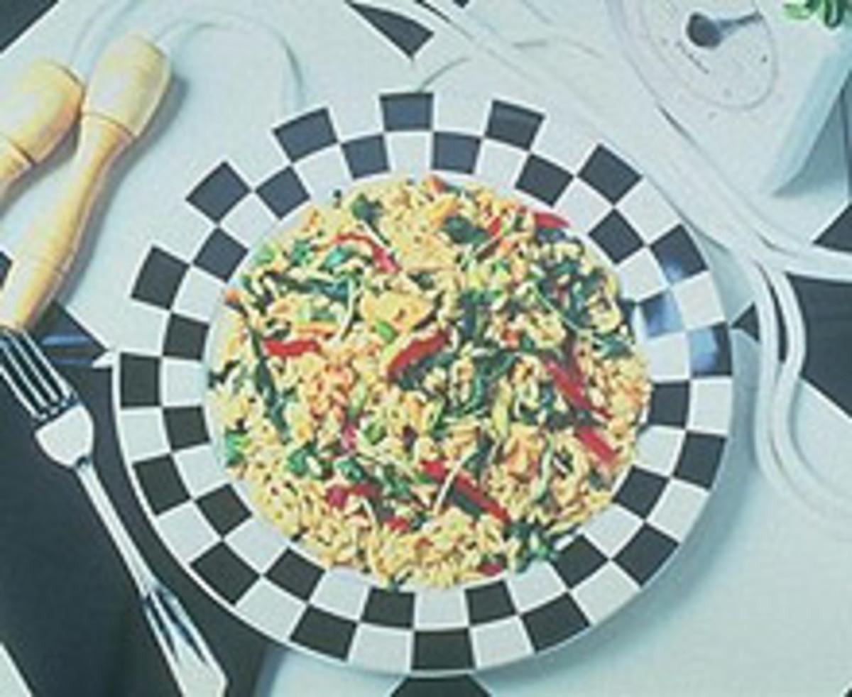 Asian Chicken Pasta Salad