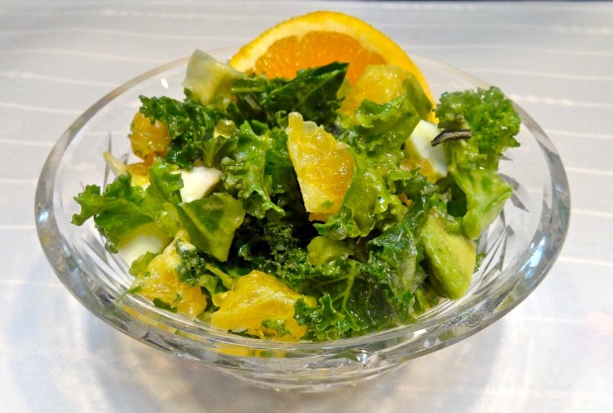 kale egg salad
