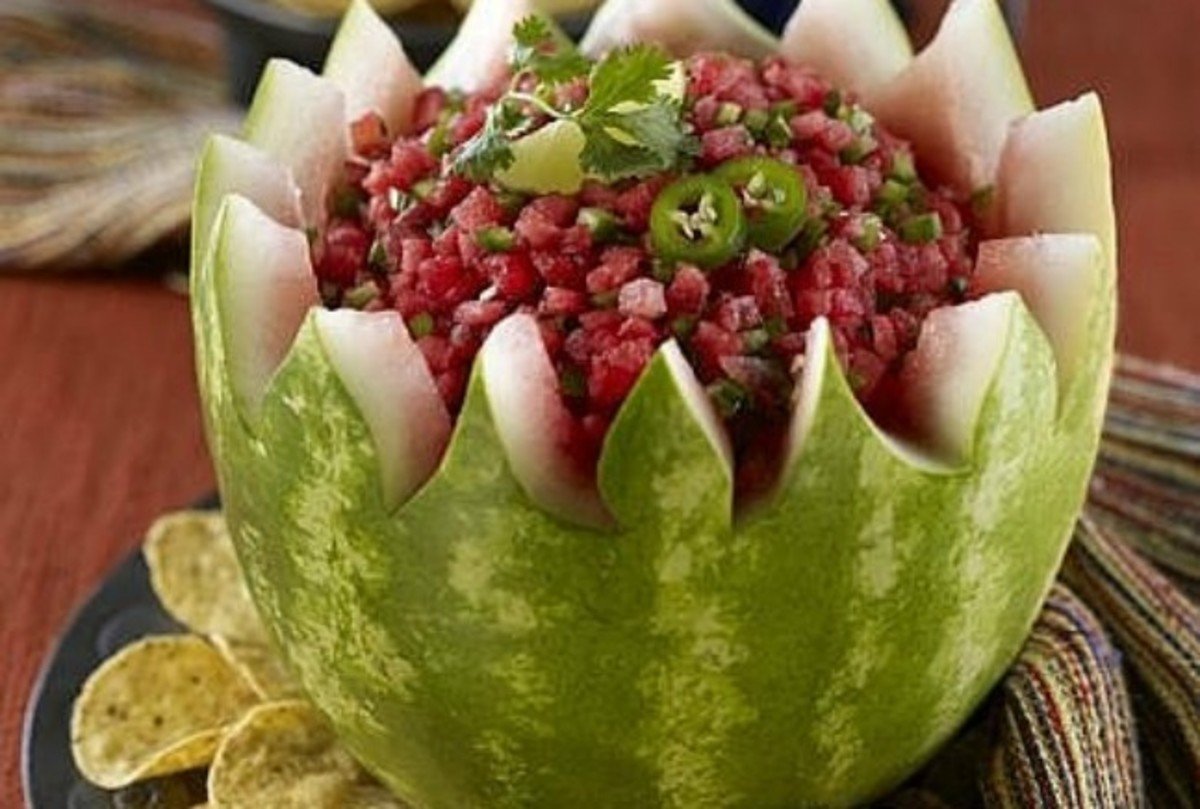 Watermelon Salsa Bowl