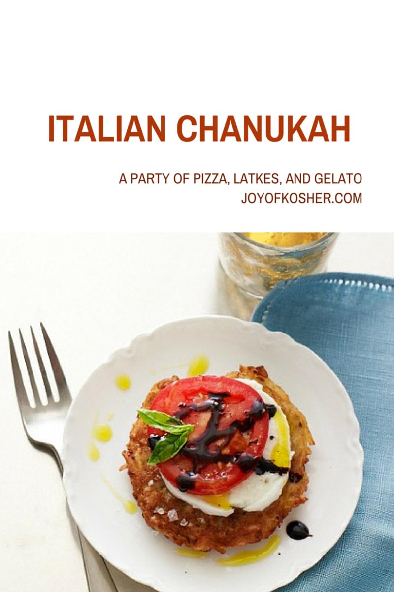 Italian Chanukah #chanukahparty