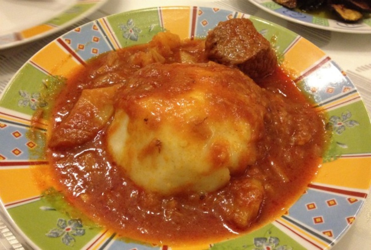 Bazin joy of kosher this libyan recipe comes to us from lisa rubin who although fully roman learned tripoli cooking from her mother in law it looks like a mountain so they forumfinder Gallery