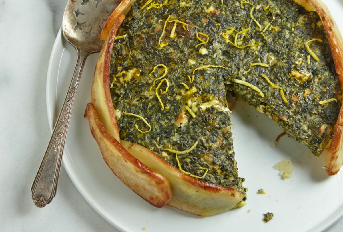 Spinach Potato Torta