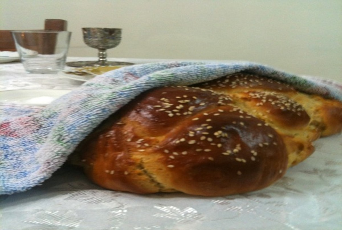 super easy challah