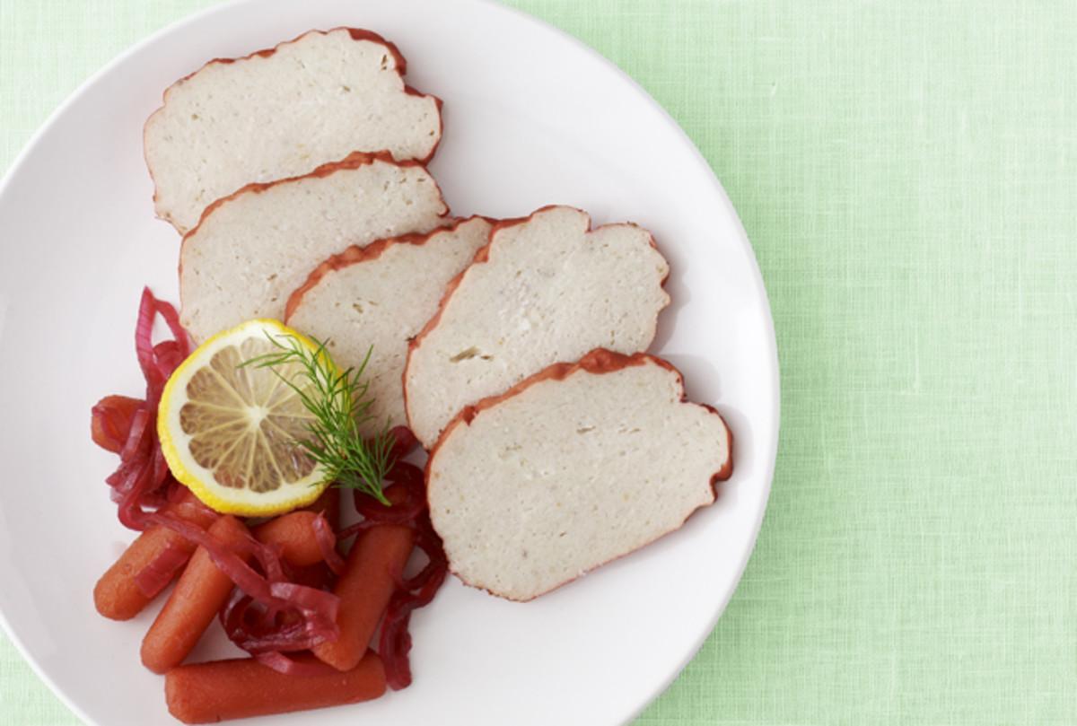 pink gefilte fish