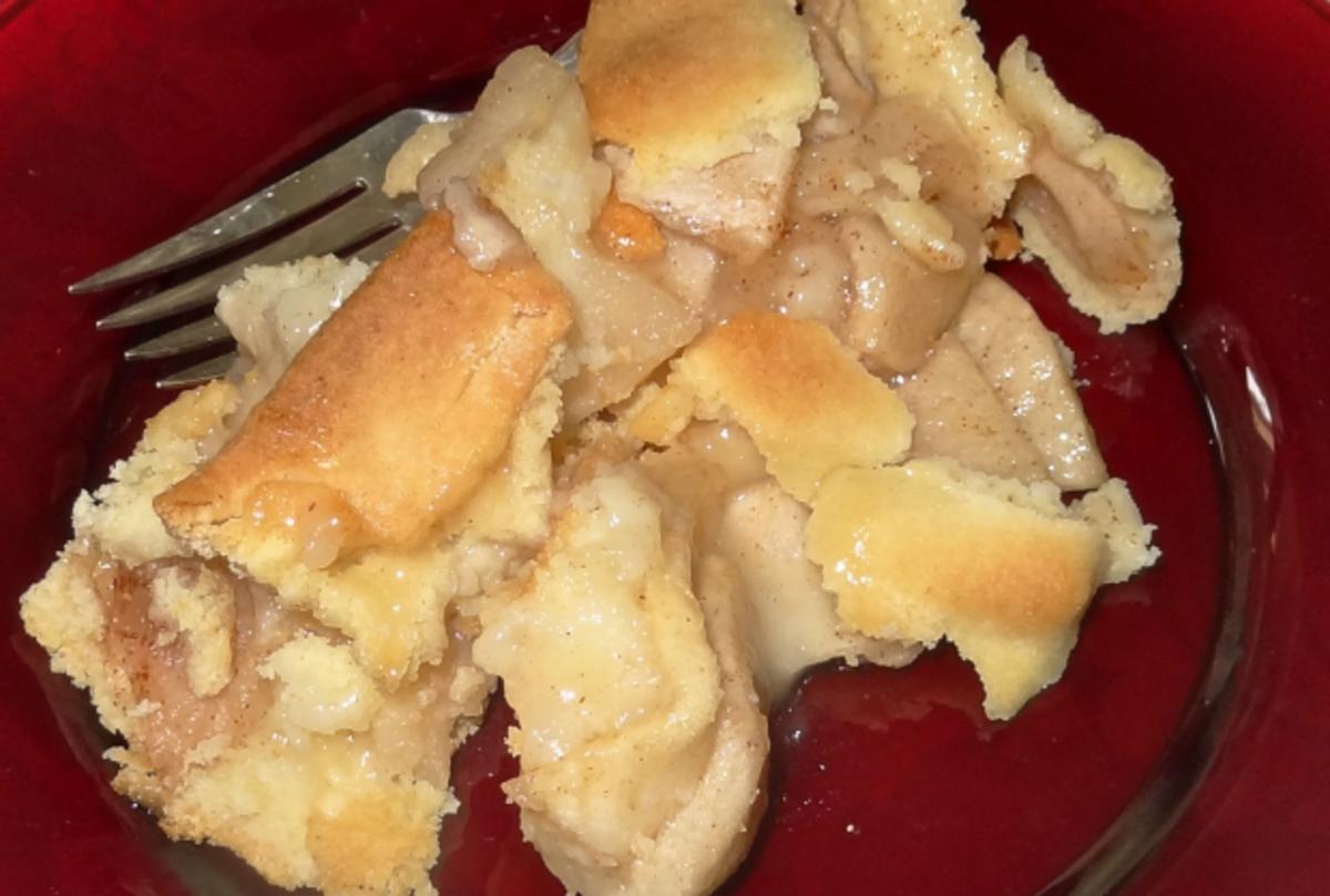 2 crust apple cake