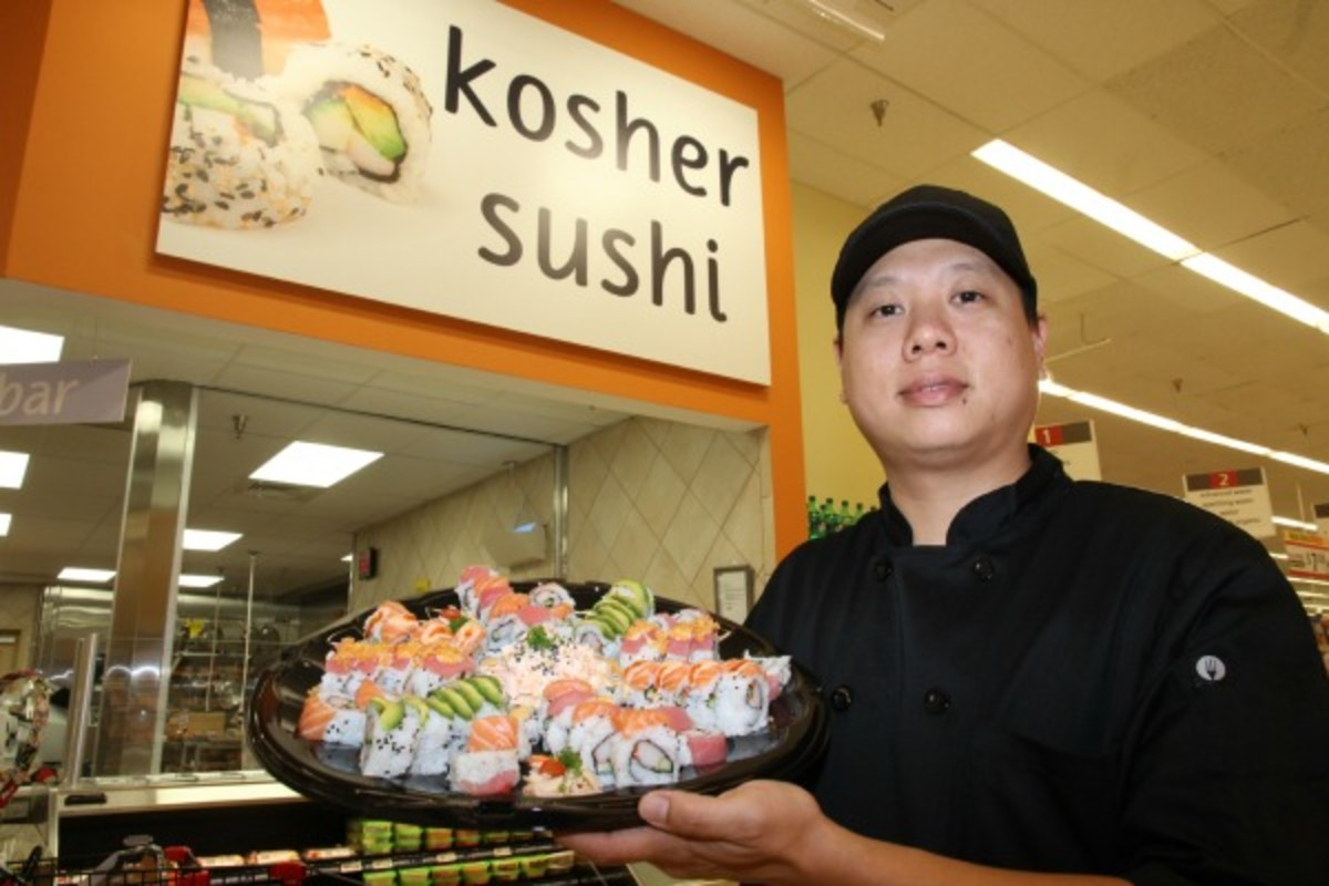 winn dixie kosher sushi