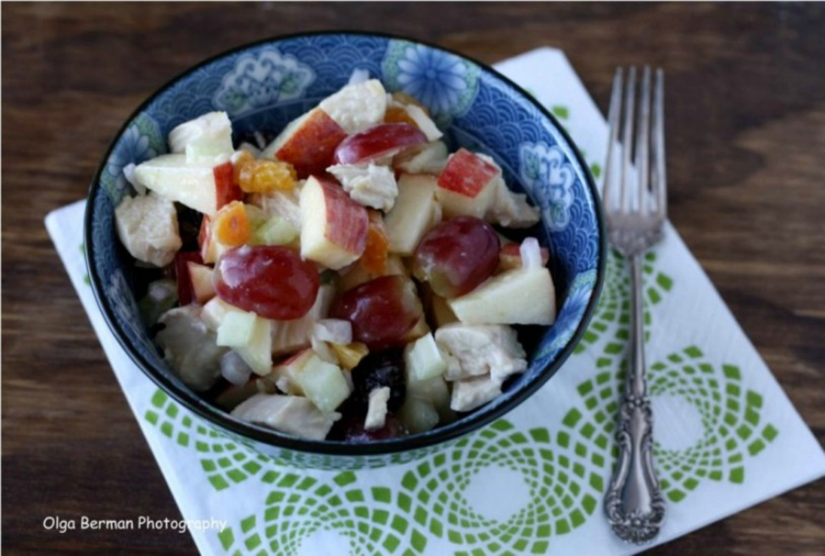 Grape and Apple Chicken Salad