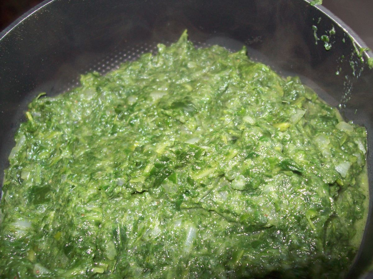 Pareve Creamed Spinach