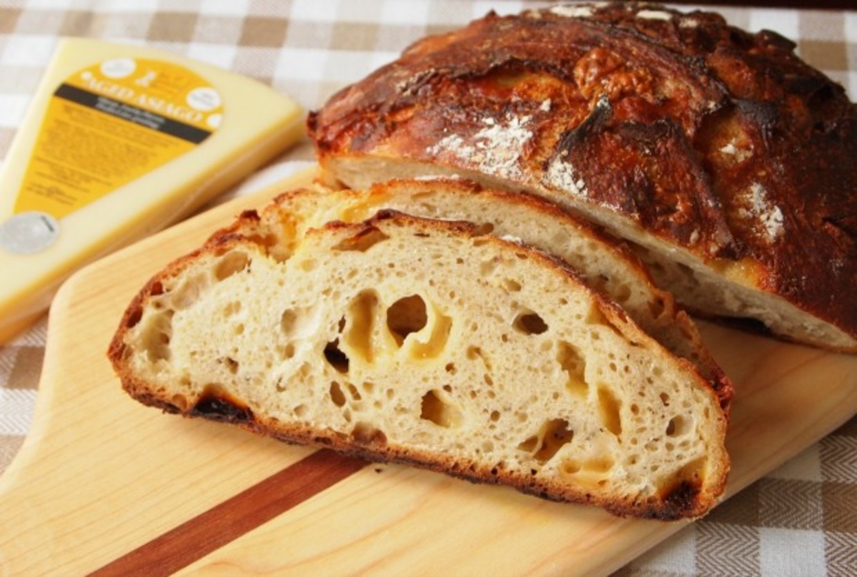 asiago bread