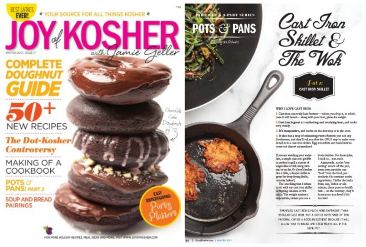 Joy of Kosher Hanukkah Magazine sneak