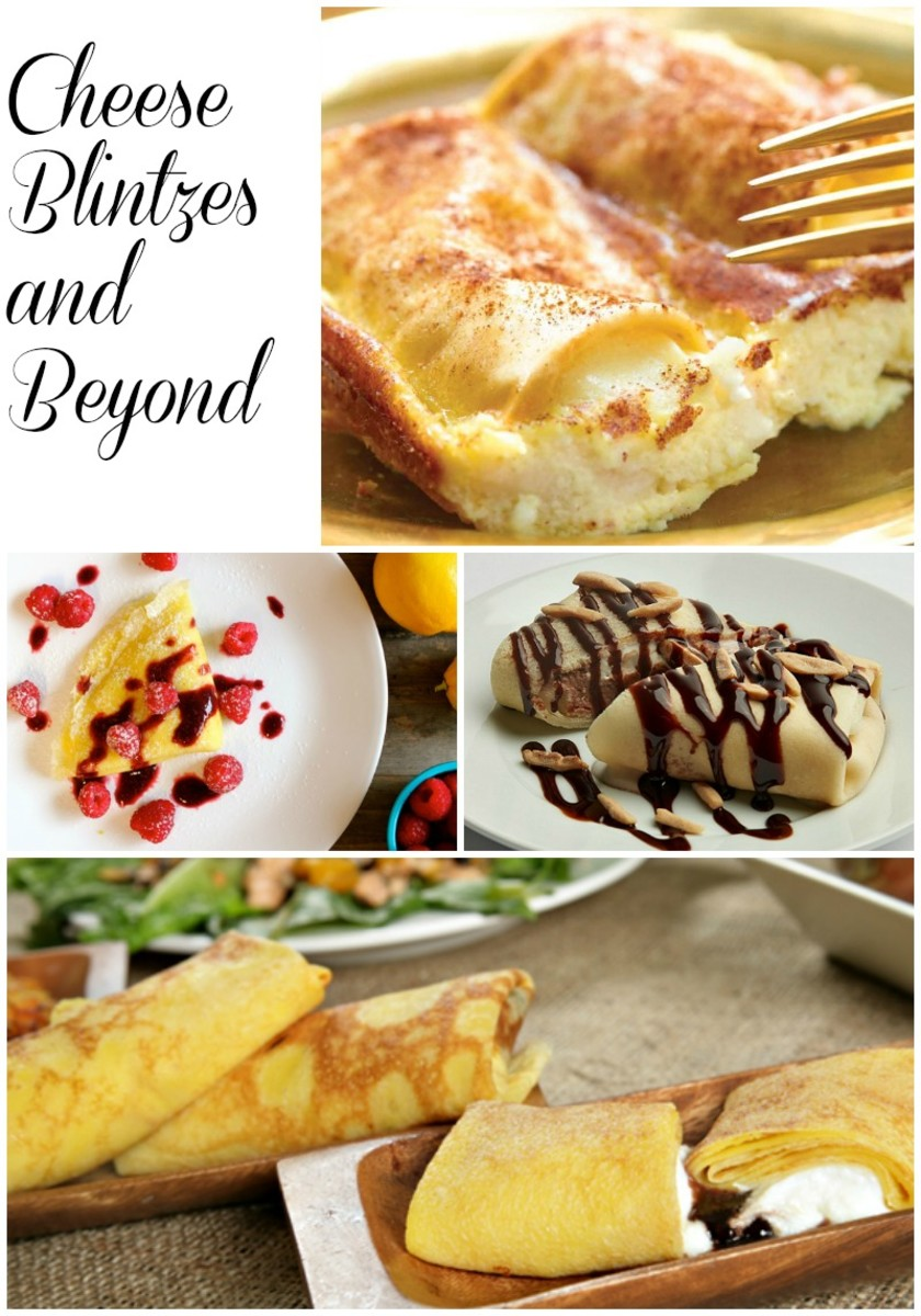 Learn to make your own blintzes and get creative