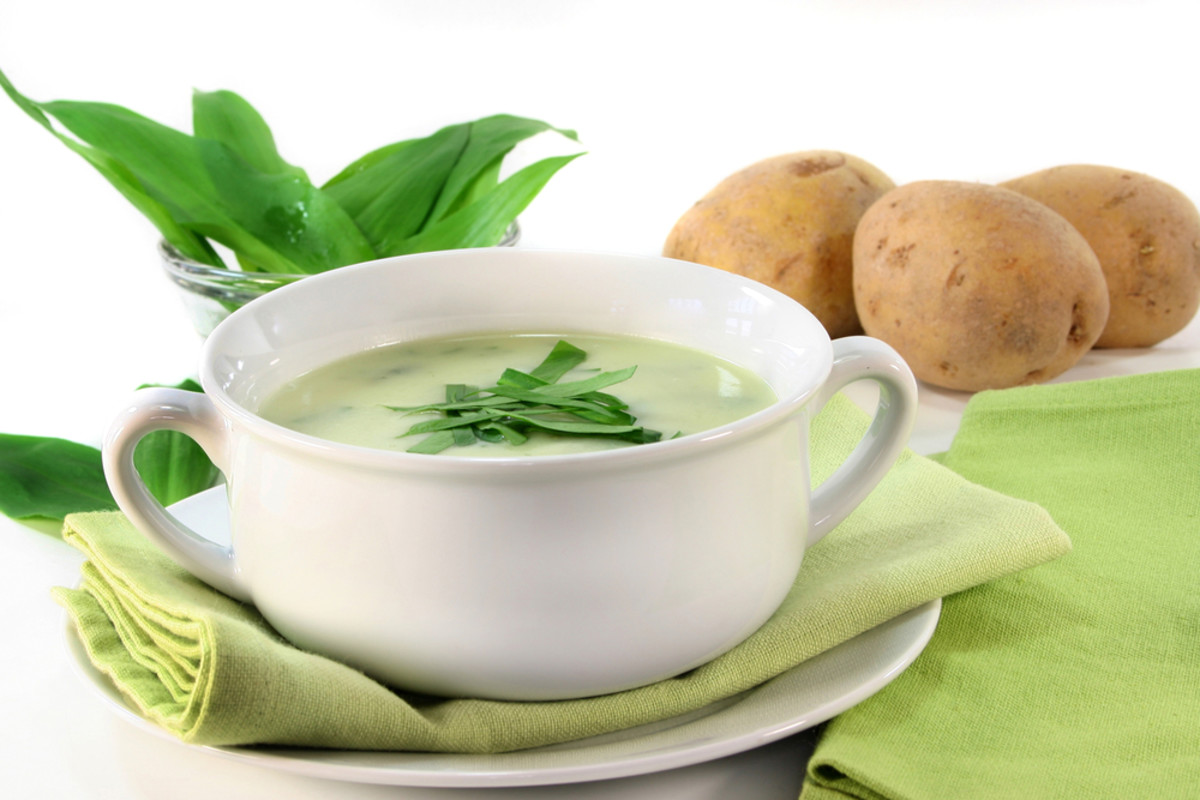 leek spinach soup