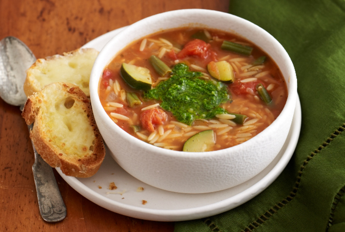 Italian Vegetable Soup With Cheese Bread Joy Of Kosher - Italian vegetable soup