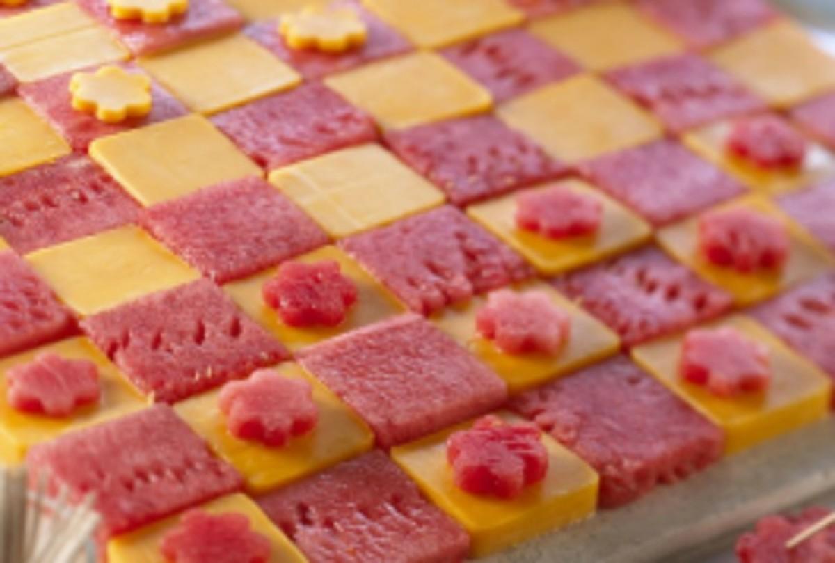 Watermelon Checkers