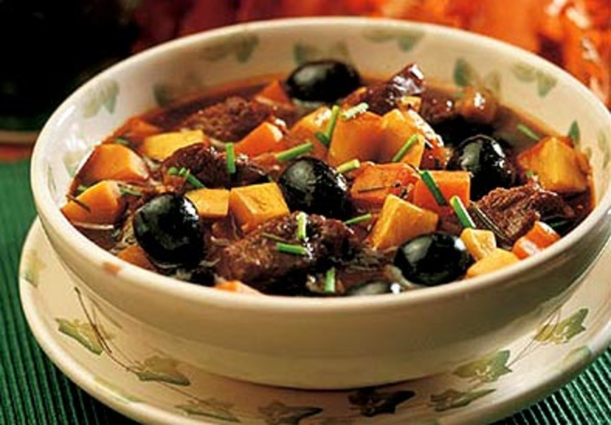 Autumn Lamb Stew