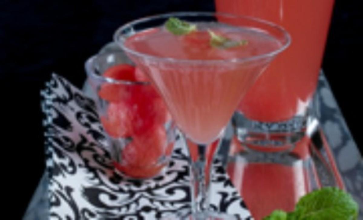 Pink Watermelon Chardonnay Sparklers