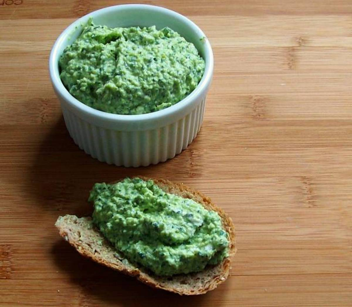 MINT AND FAVA BEAN SPREAD