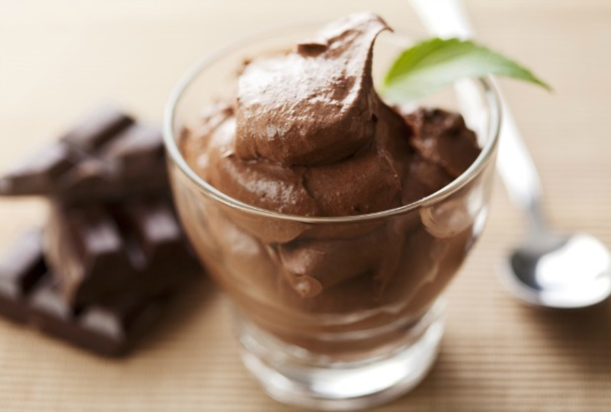 Chocolate Avocado Mousse