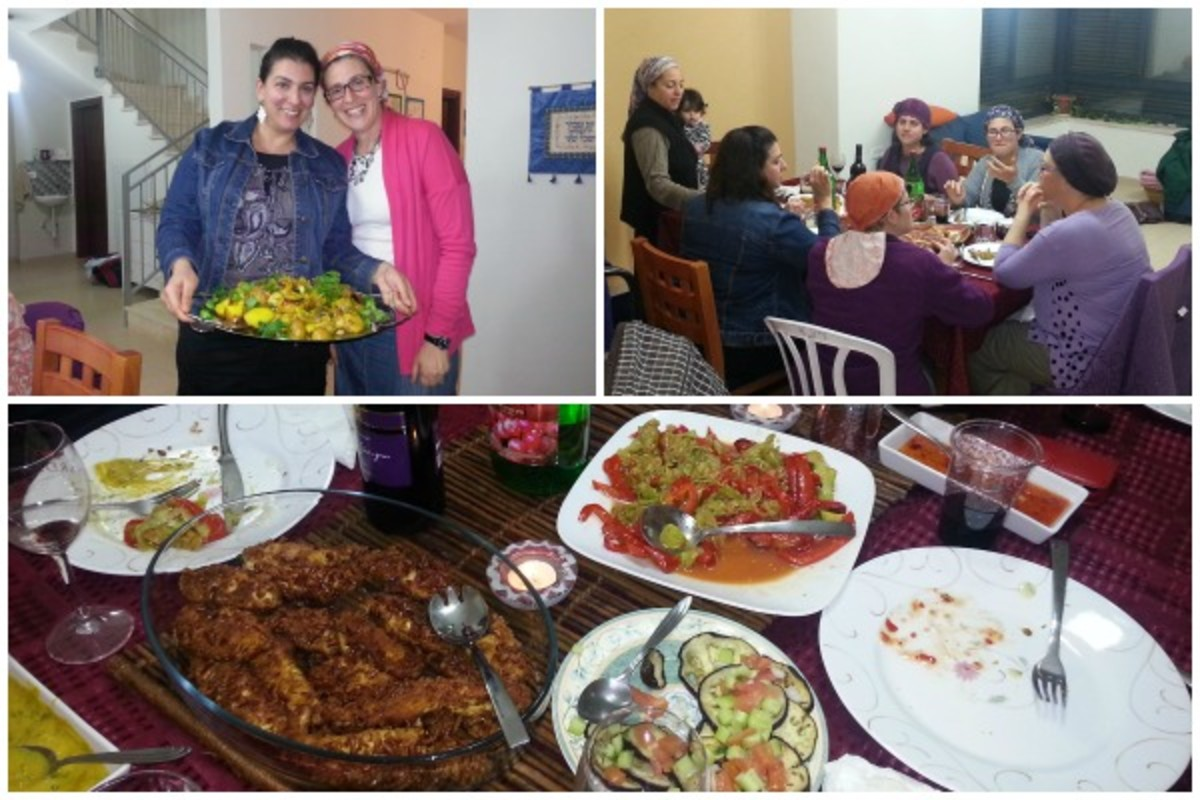 israel book party in golan