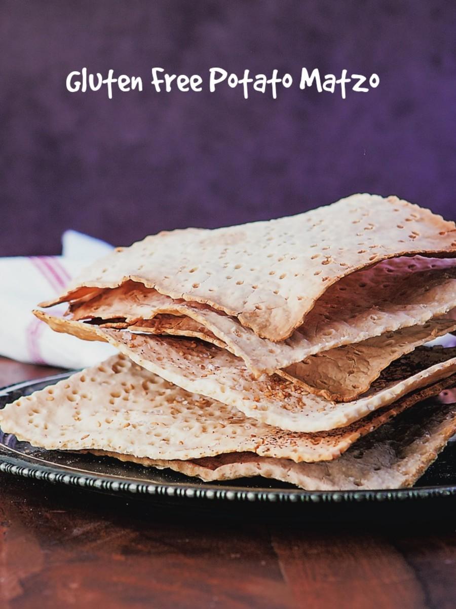 gluten free Matzo Squares