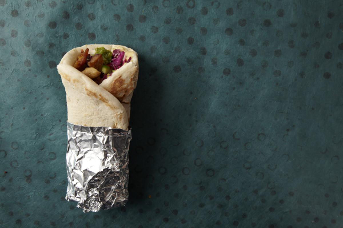 Shawarma wrapped