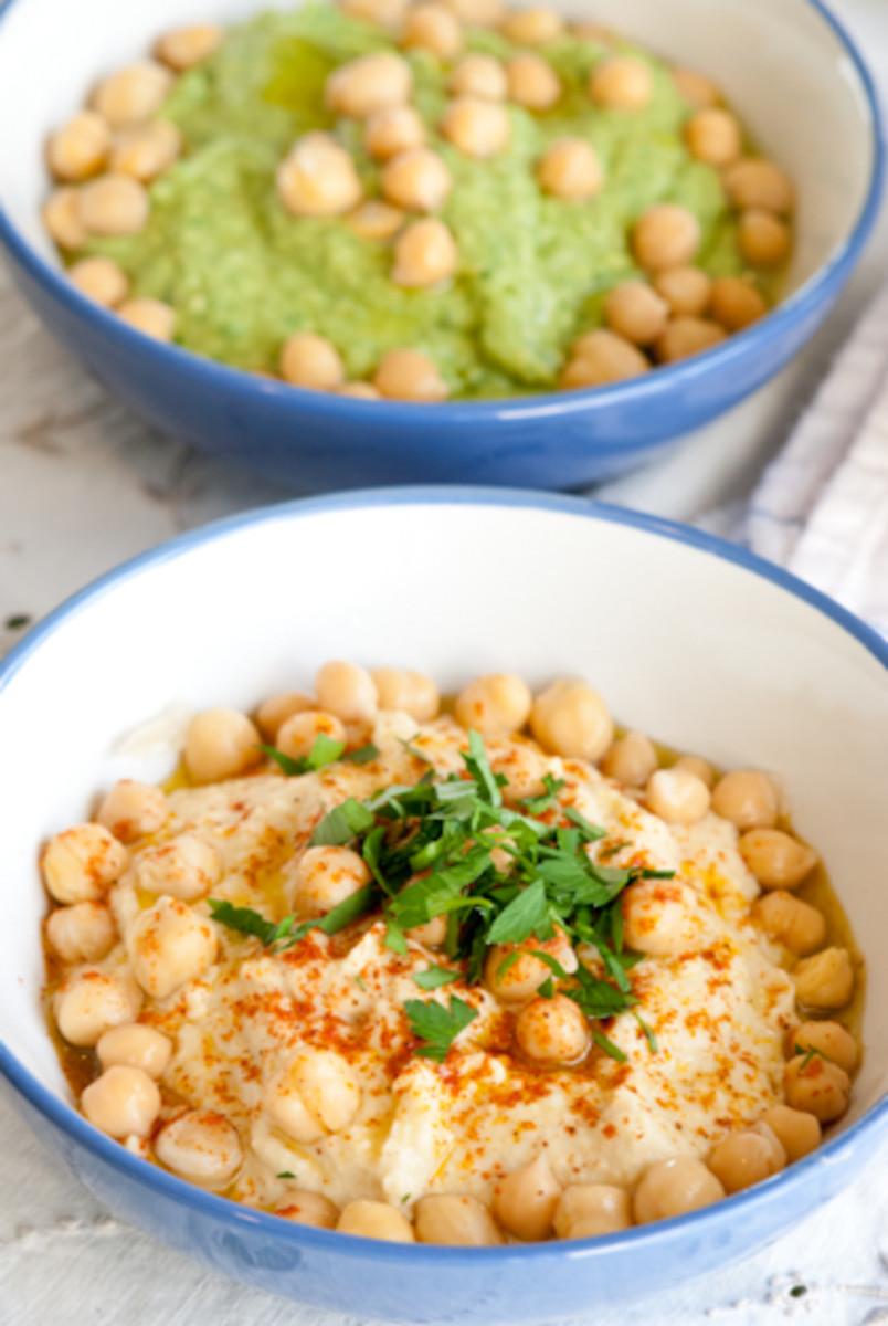 israeli style hummus