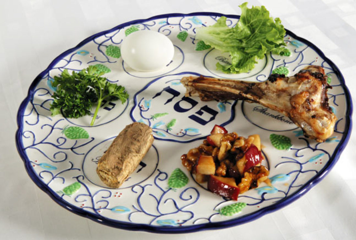 What does the passover seder meal celebrate #1