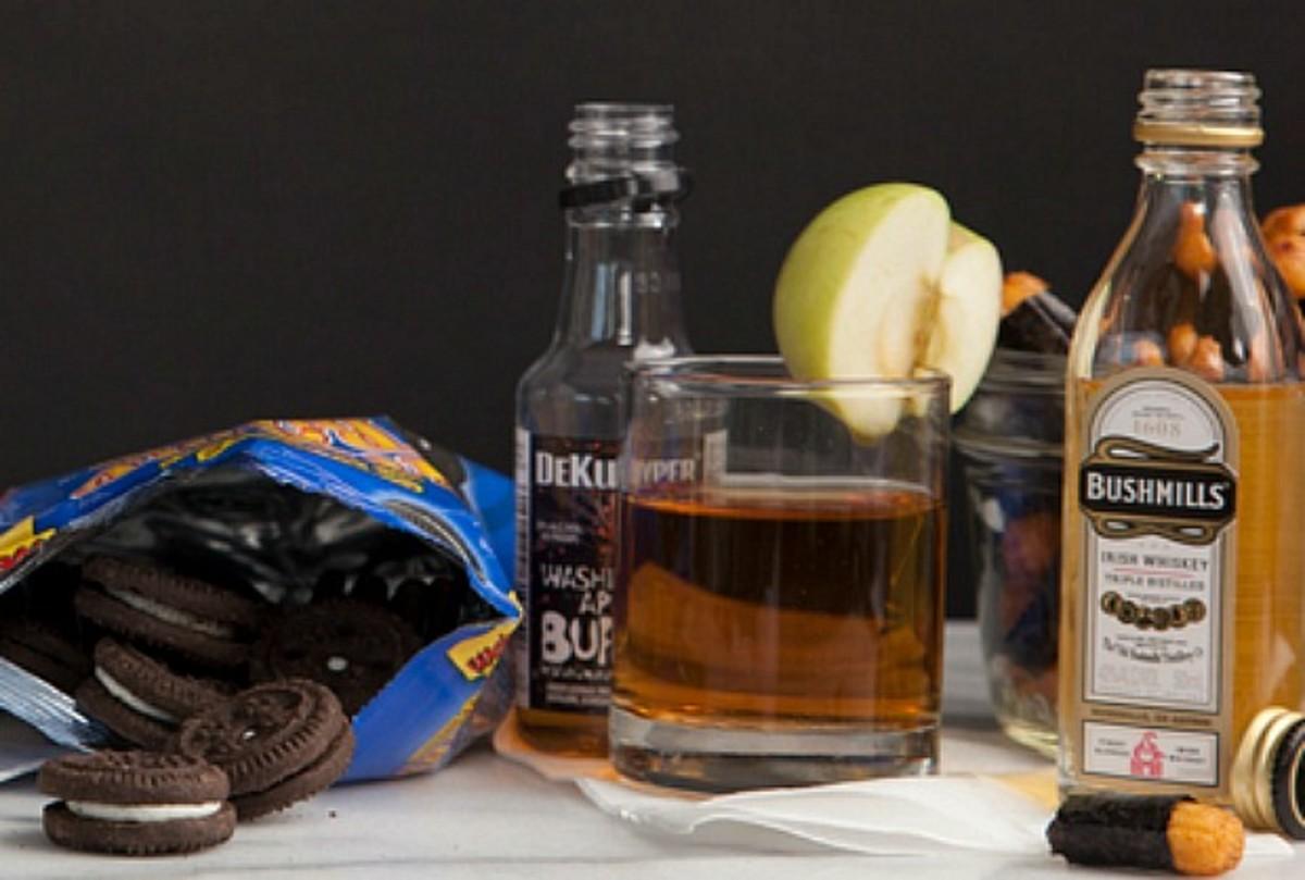 iced tea cocktail mishloach manot
