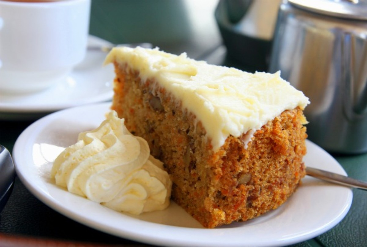 Carrot Cake With Common Cream Cheese Icing
