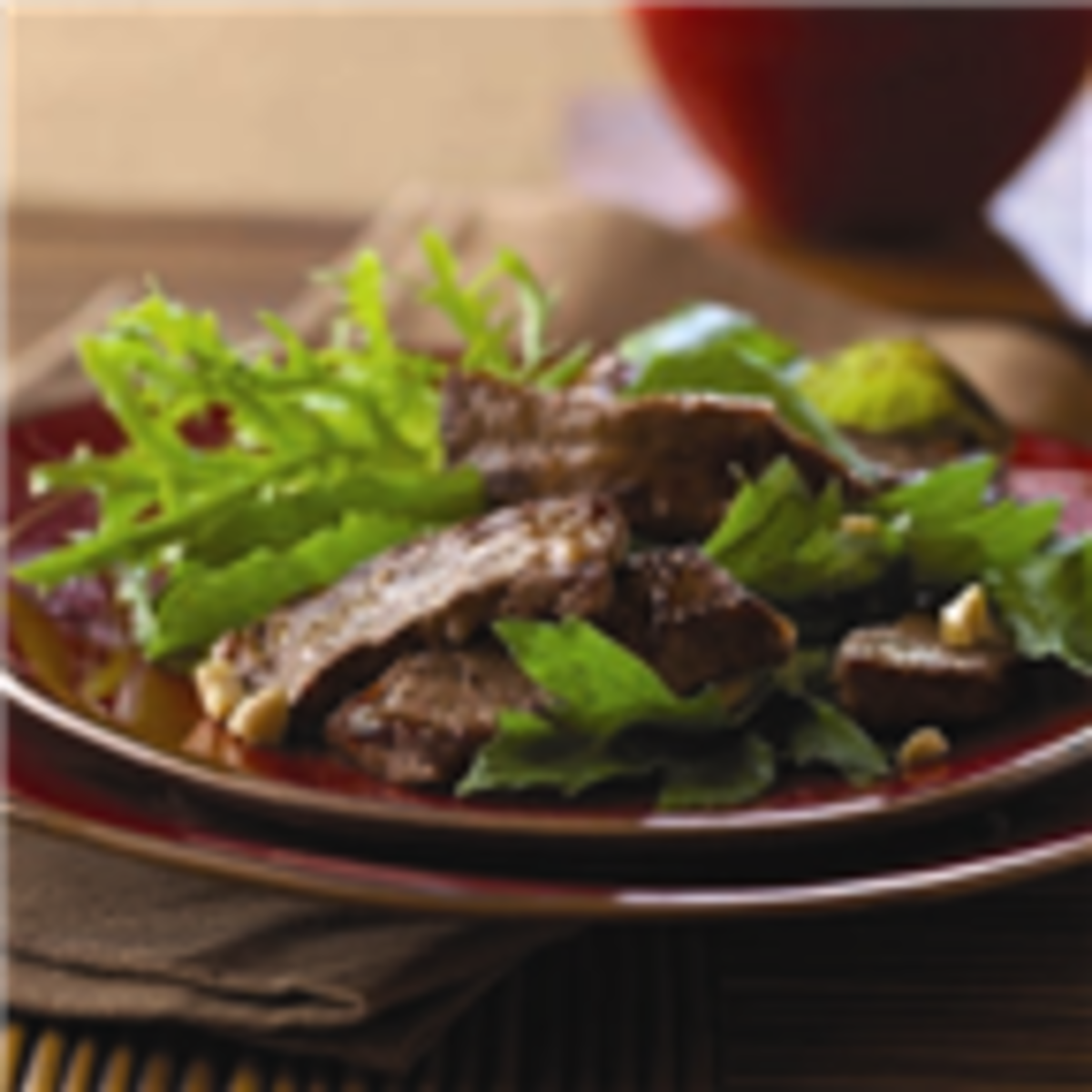 Simple Asian Beef Salad
